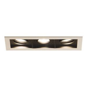 Spot de Embutir LED Quadra Triplo - 3x 8w / 24°