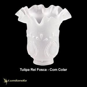 Tulipa Rei de Vidro com Colar