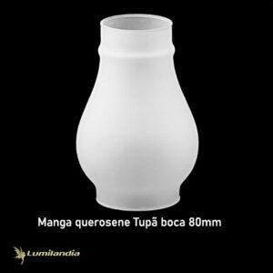 Tulipa Manga Tupã de Vidro - Boca 8cm