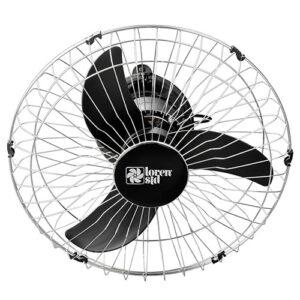 Ventilador de Teto Orbital 50cm de Aço - Giro 360° - Loren Sid