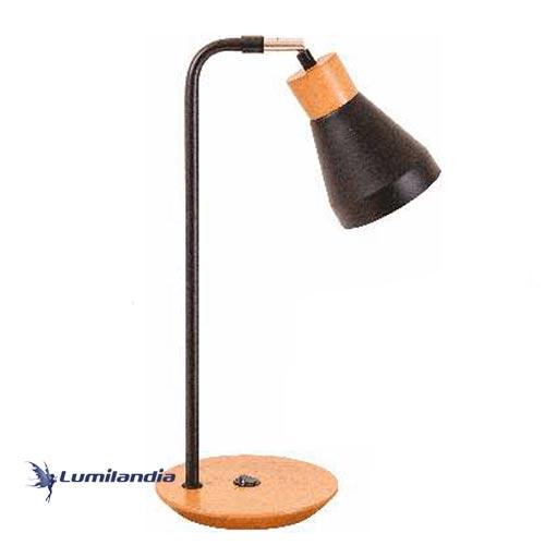 Luminária de Mesa Abajur Vintage para 1 Lâmpada