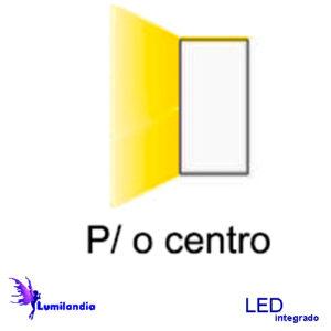 Direção do LED - Foco para o Centro