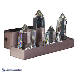 Arandela Castelo De Cristal