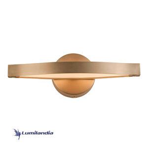 Arandela Moderna Horizon Onda Com LED Integrado