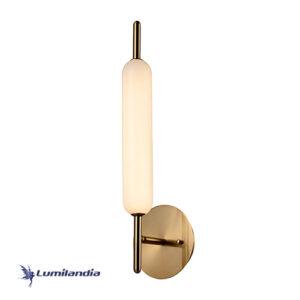 Arandela Moderna Tubular Rellun Com LED Integrado