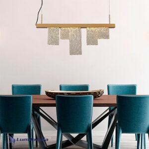 Pendente Lafite 5 Peças Com LED Integrado