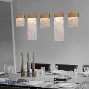Pendente Lafite Longo Com LED Integrado