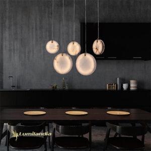 Pendente Moderno Cookie LED Integrado