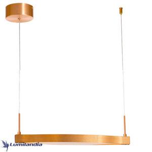 Pendente Moderno Horizon Onda Com LED Integrado